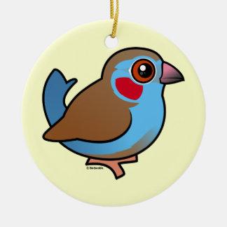 Cordonbleu Rojo-cheeked Ornaments Para Arbol De Navidad