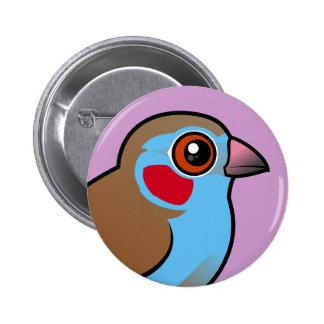 Cordonbleu Rojo-cheeked Pins