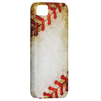 Cordones del béisbol funda para iPhone SE/5/5s