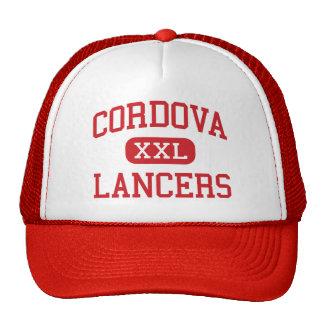 Cordova - lanceros - alto - Rancho Cordova Gorros
