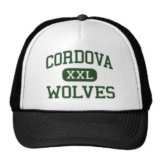 Cordova - lobos - High School secundaria - Cordova Gorras De Camionero