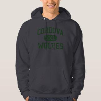 Cordova - Wolves - High School - Cordova Tennessee Hooded Sweatshirt