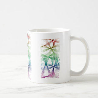 Cords of colors coffee mug