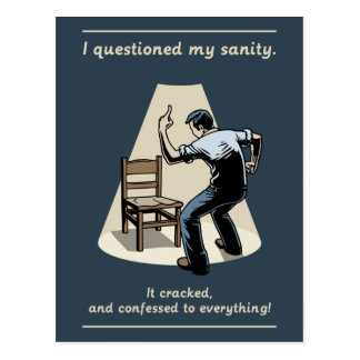 Cordura de la pregunta postales