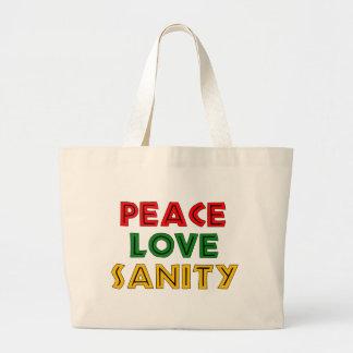 Cordura del amor de la paz bolsa