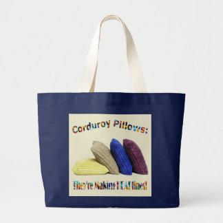 Corduroy Headlines Pillows Tote Bag