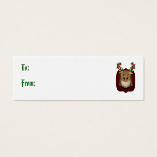 Corduroy Moose Gift Tags