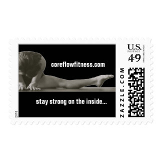 Core Flow Fitness first class stamps