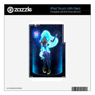 Core reactor iPod touch 4G decal