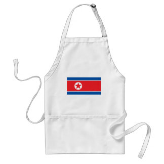 Corea del norte delantal