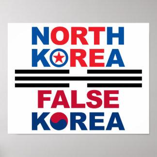 Corea del Norte el | Corea falsa Impresiones