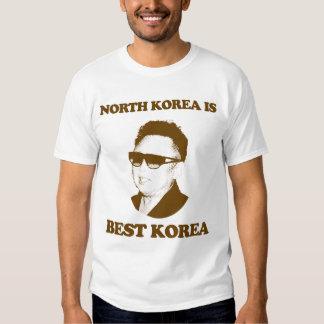 Corea del Norte es mejor Corea Camisas