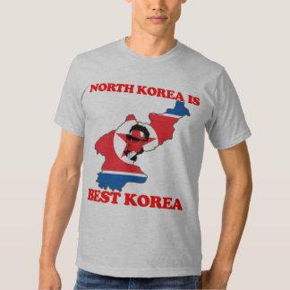 Corea del Norte es mejor Corea Remera