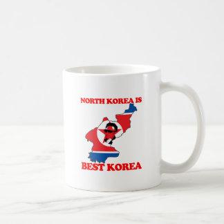 Corea del Norte es mejor Corea Taza Clásica