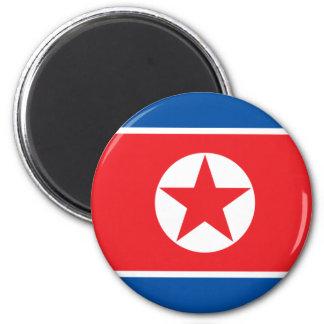 Corea del norte imán de frigorífico