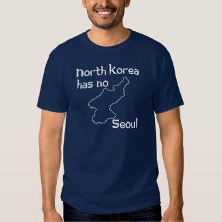 Corea del Norte no tiene ninguna Seul Remeras