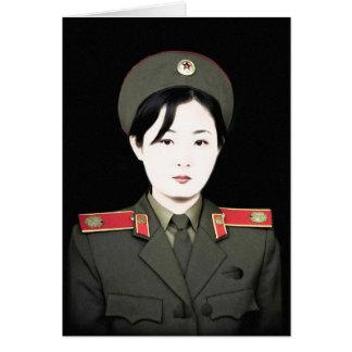 Corea del Norte Tarjeta De Felicitación