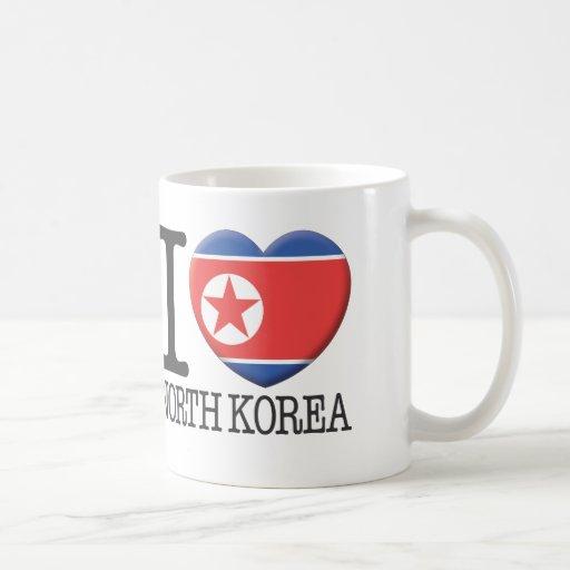 Corea del Norte Taza Básica Blanca
