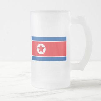 Corea del norte taza de cristal