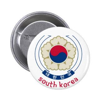 COREA DEL SUR - coreano/Asia/asiático/emblema/band Pin