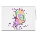 Corea del Sur de Busán Felicitación