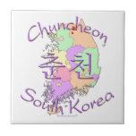 Corea del Sur de Chuncheon Azulejo Ceramica