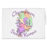 Corea del Sur de Chuncheon Felicitación