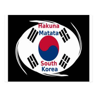Corea del Sur de Hakuna Matata Postal