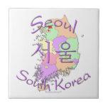 Corea del Sur de Seul Teja Ceramica