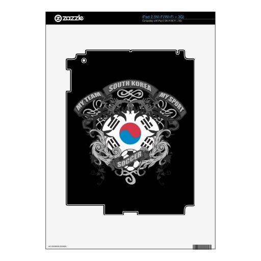 Corea del Sur del fútbol iPad 2 Skin