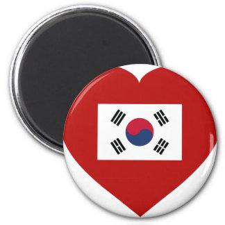 Corea del Sur Imán Redondo 5 Cm