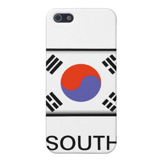 Corea del Sur iPhone 5 Cárcasa