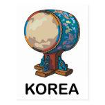 Corea del Sur Tarjetas Postales