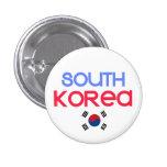 Corea del Sur y a (bandera surcoreana) Pin