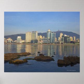 Corea, Gyeongsangnam-hace, Busán, playa de Gwangan Póster