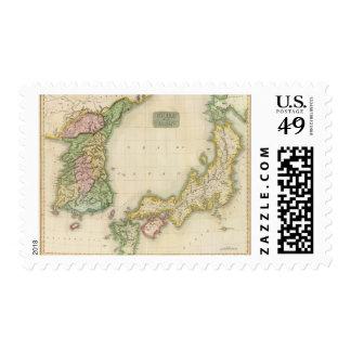 Corea, Japan Postage Stamps