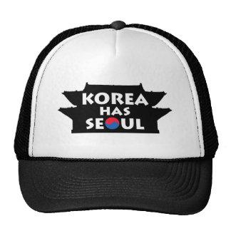 Corea tiene Seul Gorra