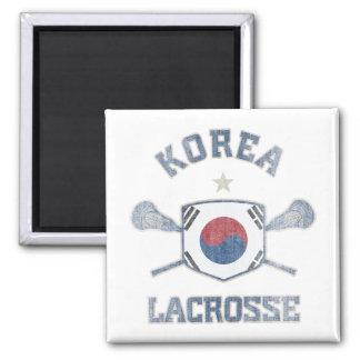 Corea-Vintage Imán Cuadrado