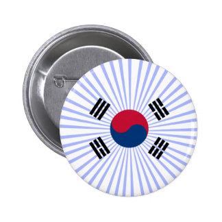 Coreana de Bandera Pin