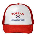 Coreano apuesto gorras