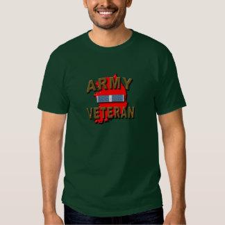 Coreano+Cinta del servicio del veterano de guerra, Camisas