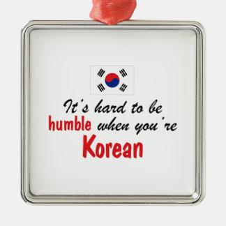 Coreano humilde ornatos