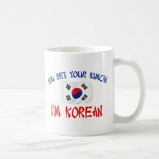 Coreano Kimchi Taza De Café