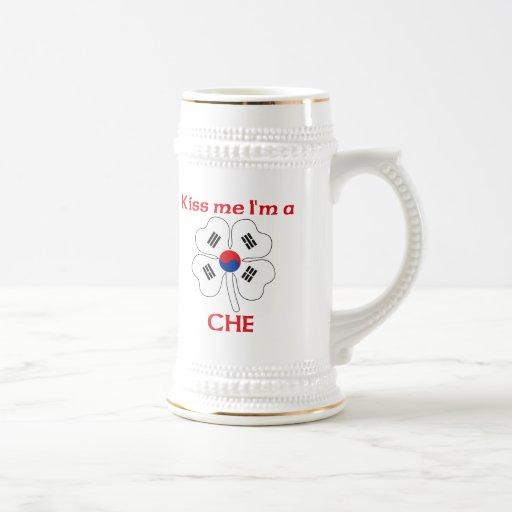 Coreanos personalizada me besan que soy Che Taza De Café