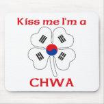 Coreanos personalizada me besan que soy Chwa Alfombrilla De Raton
