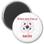 Coreanos personalizada me besan que soy Moh Imanes Para Frigoríficos