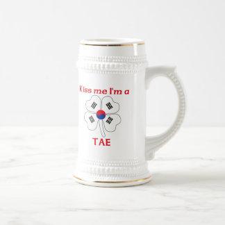 Coreanos personalizada me besan que soy Tae Tazas