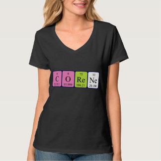 Corene periodic table name shirt