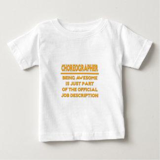 Coreógrafo impresionante. Descripción de las Camiseta