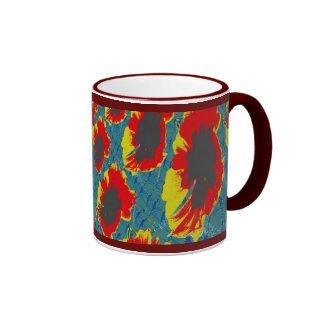 coreopsis ringer mug